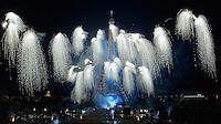 Feu d'artifice du 14 juillet 2016 ‡ la Tour Eiffel depuis le TrocadÈro ‡ Paris, France, 14/07/2016. # FEU D'ARTIFICE DU 14 JUILLET 2016 A LA TOUR EIFFEL