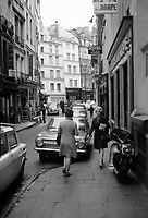 Paris, France in the sixties