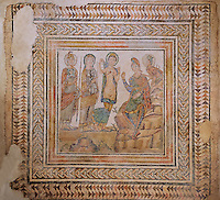 The Judgement of Paris. 3rd Century AD Roman Mosaic from Casariche. Archaeological Museum, Seville, Spain