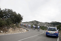 Team Topsport Vlaanderen - Baloise training in the Alicante Province up the Coll de Rates in preparation of the new race season ahead.<br /> <br /> 2016 Trainingcamps