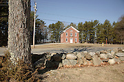 The Old Town Hall is located in the historical district of Newington, New Hampshire, USA. This historical building was built in 1872 and is located next to the oldest town forest in the United States.