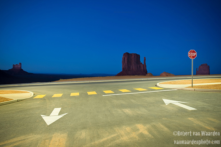 Monument Valley Parking Lot.