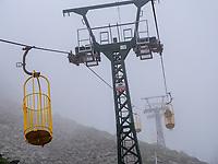 Seilbahn Monte Capanne, Marciana Alta, Elba, Region Toskana, Provinz Livorno, Italien, Europa<br /> Marciana Alta, car Monte Capanne, Region Tuscany, Province Livorno, Italy, Europe