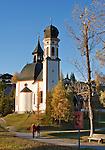 Austria, Tyrol, Seefeld in Tyrol: church Seekirchl | Oesterreich, Tirol, Seefeld in Tirol: Seekirchl