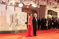 """Venice, Italy - September 10: Giannina Facio and Ridley Scott attend the Red Carpet of 20th Century Studios' movie """"The Last Duel"""" during the 78th Venice International Film Festival on September 10, 2021 in Venice, Italy. <br /> CAP/MPI/AF<br /> ©AF/MPI/Capital Pictures"""