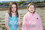 Enjoying Ballyheigue beach on Sunday, l to r:  Abby Rogers and Ella Conroy.