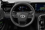 Car pictures of steering wheel view of a 2021 Toyota Mirai Limited 4 Door Sedan Steering Wheel