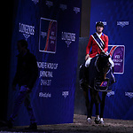 OMAHA, NEBRASKA - MAR 30: McLain Ward wins the FEI World Cup Jumping Final I aboard HH Azur at the CenturyLink Center on March 30, 2017 in Omaha, Nebraska. (Photo by Taylor Pence/Eclipse Sportswire/Getty Images)