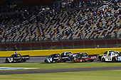 NASCAR Camping World Truck Series<br /> North Carolina Education Lottery 200<br /> Charlotte Motor Speedway, Concord, NC USA<br /> Friday 19 May 2017<br /> Kyle Busch, Cessna Toyota Tundra and Christopher Bell, SiriusXM Toyota Tundra<br /> World Copyright: Nigel Kinrade<br /> LAT Images<br /> ref: Digital Image 17CLT1nk05076