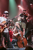 Quebec Redneck Bluegrass Project performs at the Festival d'ete de Quebec (Quebec City Summer Festival) Friday July 17, 2015.