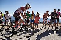 Toms Skujins (EST/Trek Segafredo)<br /> <br /> Stage 6 from Le Teil to Mont Aigoual 191km<br /> 107th Tour de France 2020 (2.UWT)<br /> (the 'postponed edition' held in september)<br /> ©kramon