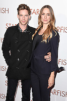 "Luke Treadaway and Rita Gedmintas<br /> at the ""Starfish"" UK premiere, Curzon Mayfair, London.<br /> <br /> <br /> ©Ash Knotek  D3190  27/10/2016"