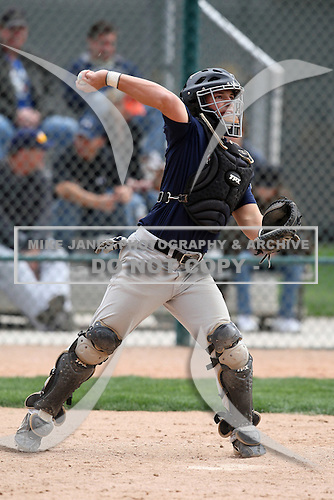 January 17, 2010:  Chad Miller (Angleton, TX) of the Baseball Factory American Team during the 2010 Under Armour Pre-Season All-America Tournament at Kino Sports Complex in Tucson, AZ.  Photo By Mike Janes/Four Seam Images
