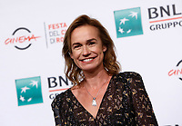 "French actress Sandrine Bonnaire poses during a photo call to present the movie ""Prendre le large"" (""Catch the wind"") during the international Rome Film Festival at Rome's Auditorium, 29 October 2017.<br /> UPDATE IMAGES PRESS/Riccardo De Luca"
