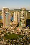 Aerial View of South Waterfront in Portland, Oregon