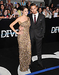 Shailene Woodley and Theo James attends The L.A. Premiere of DIVERGENT held at The Regency Bruin Theatre in West Hollywood, California on March 18,2014                                                                               © 2014 Hollywood Press Agency