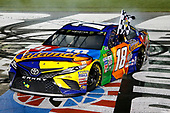 Monster Energy NASCAR Cup Series<br /> Monster Energy NASCAR All-Star Race<br /> Charlotte Motor Speedway, Concord, NC USA<br /> Saturday 20 May 2017<br /> Kyle Busch, Joe Gibbs Racing, M&M's Caramel Toyota Camry<br /> World Copyright: Matthew T. Thacker<br /> LAT Images<br /> ref: Digital Image 17CLT1mt1478