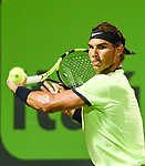 March 29 2017: Rafael Nadal (ESP) defeats Jack Sock (USA) by 6-2, 6-3, at the Miami Open being played at Crandon Park Tennis Center in Miami, Key Biscayne, Florida. ©Karla Kinne/Tennisclix/Cal Sports Media