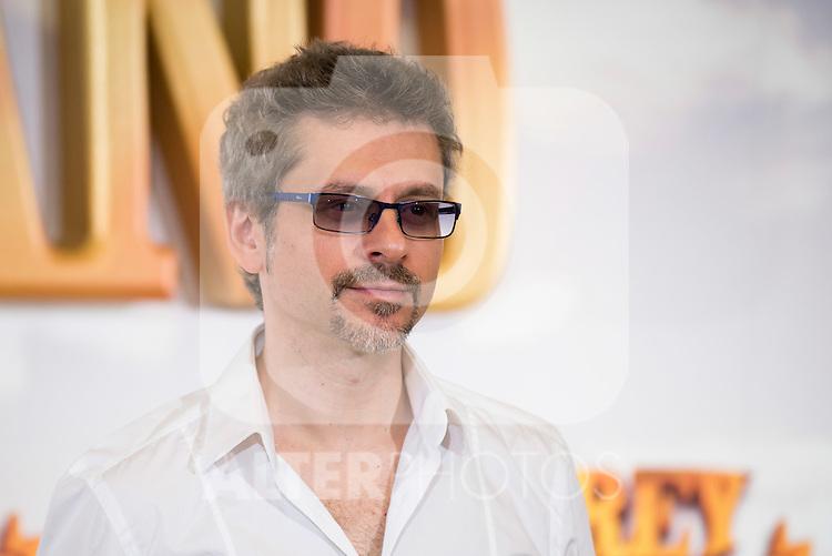 "Director Juanma Bajo Ulloa pose during ""Rey Gitano"" film presentation at Palafox Cinemas in Madrid, Spain. July 09, 2015.<br />  (ALTERPHOTOS/BorjaB.Hojas)"