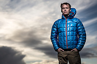 Leo Houlding portrait - 'If modern British adventure has a face, it looks a lot like Leo Houlding.'