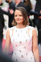 """CANNES, FRANCE. July 6, 2021: Jodie Foster at the premiere of """"Annette"""" at the gala opening of the 74th Festival de Cannes.<br /> Picture: Paul Smith / Featureflash"""