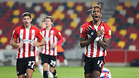 Ivan Toney celebrates scoring Brentford's second goal during Brentford vs Queens Park Rangers, Sky Bet EFL Championship Football at the Brentford Community Stadium on 27th November 2020