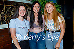 Enjoying the evening in Molly J's on Thursday, l to r: Emma O'Keeffe, Sassy Kelly and Shannon  Keating.