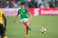 Pasadena, Ca. - July 23, 2017: The CONCACAF Gold Cup Semi-Final Game, Mexico vs Jamaica. Final score, Mexico 0, Jamaica 1