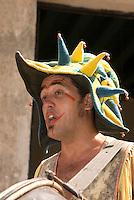 Cuba, Habana, Straßenkünstler auf der  Plaza de Armas