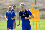 St Johnstone Training....   McDiarmid Park   10.08.21<br />Ali McCann pictured during training this morning ahead of Thursday's Europa League Qualfier against Galatasaray.<br />Picture by Graeme Hart.<br />Copyright Perthshire Picture Agency<br />Tel: 01738 623350  Mobile: 07990 594431