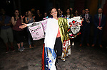 """Katerina Papacostas during the Broadway Opening Night Actors' Equity Legacy Robe Ceremony honoring Jenifer Foote for """"Tootsie"""" at The Marquis Theatre on April 22, 2019  in New York City."""