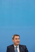 Die Ministerpraesidenten der Bundeslaender Baden Wuertemberg, Bayern und Niedersachsen - Winfried Kretschmann (Gruene), Markus Soeder (CSU) (im Bild) und <br /> Stephan Weil (SPD), stellten am Freitag den 7. Juni 2019 in Berlin ihre Ideen zur Zukunft der deutschen Automobilindustrie vor.<br /> 7.6.2019, Berlin<br /> Copyright: Christian-Ditsch.de<br /> [Inhaltsveraendernde Manipulation des Fotos nur nach ausdruecklicher Genehmigung des Fotografen. Vereinbarungen ueber Abtretung von Persoenlichkeitsrechten/Model Release der abgebildeten Person/Personen liegen nicht vor. NO MODEL RELEASE! Nur fuer Redaktionelle Zwecke. Don't publish without copyright Christian-Ditsch.de, Veroeffentlichung nur mit Fotografennennung, sowie gegen Honorar, MwSt. und Beleg. Konto: I N G - D i B a, IBAN DE58500105175400192269, BIC INGDDEFFXXX, Kontakt: post@christian-ditsch.de<br /> Bei der Bearbeitung der Dateiinformationen darf die Urheberkennzeichnung in den EXIF- und  IPTC-Daten nicht entfernt werden, diese sind in digitalen Medien nach §95c UrhG rechtlich geschuetzt. Der Urhebervermerk wird gemaess §13 UrhG verlangt.]