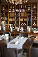 Europe/France/Aquitaine/33/Gironde/Bassin d'Arcachon/ Le Cap Ferret : Maison du Bassin, Hôtel-Restaurant de Charme, la salle du restaurant [Non destiné à un usage publicitaire - Not intended for an advertising use]