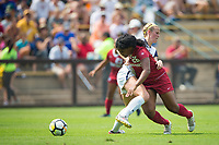 STANFORD, CA - September 3, 2017: Madison Haley at Cagan Stadium. Stanford defeated Navy 7-0.