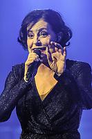 Lio lors de la tournÈe 'Stars 80, 10 ans dÈj‡ !' au Palais Nikaia ‡ Nice, le samedi 18 mars 2017. # TOURNEE 'STARS 80 - 10 ANS DEJA !' A NICE