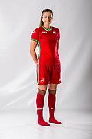 Katy Hosford<br />Swansea City FC kit photo shoot at the Liberty Stadium, Wales, UK. Wednesday 03 May 2017