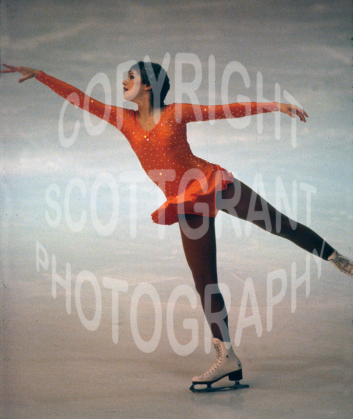 Claudia Wood of Great Britain competes at the 1981 Skate Canada in Ottawa, Canada. Photo copyright Scott Grant.