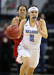 Centennial's Jade Thomas competes against Liberty in the NIAA state basketball tournament in Reno, Nev., on Friday, Feb. 23, 2018. Centennial won the title, 74-65 in overtime. Cathleen Allison/Las Vegas Review-Journal