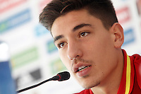 Spain's Hector Bellerin in press conference during preparing training stage to Euro 2016. May 30,2016.(ALTERPHOTOS/Acero) /NortePhoto.com