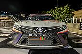 #11: Denny Hamlin, Joe Gibbs Racing, FedEx Office Toyota Camry celebrates in victory lane