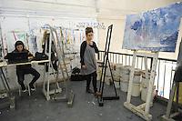 - Milano, Accademia di belle Arti di Brera, laboratorio di pittura<br /> <br /> - Milan, the Brera Academy of Fine Arts, painting workshop