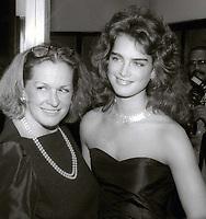 Teri Shields and Brooke Shields 1980s<br /> Photo By John Barrett/PHOTOlink
