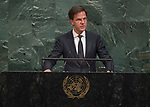72 General Debate – 20 September <br /> <br /> <br /> by His Excellency Mark Rutte, Prime Minister of the Kingdom of the Netherlands