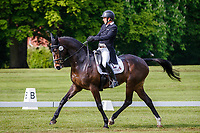 AUS-Sam Griffiths rides Annaghmore Valoner during the Dressage for the CCIO-S 4* Section D. 2021 GBR-Saracen Horse Feeds Houghton International Horse Trials. Hougton Hall. Norfolk. England. Friday 28 May 2021. Copyright Photo: Libby Law Photography