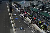 Verizon IndyCar Series<br /> Indianapolis 500 Practice<br /> Indianapolis Motor Speedway, Indianapolis, IN USA<br /> Tuesday 16 May 2017<br /> Max Chilton, Chip Ganassi Racing Teams Honda, Tony Kanaan, Chip Ganassi Racing Teams Honda, Takuma Sato, Andretti Autosport Honda<br /> World Copyright: Scott R LePage<br /> LAT Images<br /> ref: Digital Image lepage-170516-indy-3653