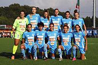 4th September 2021; Agostino di Bartolomei Stadium, Rome, Italy; Serie A womens championship football, AS Roma versus Napoli ; Napoli starting line-up
