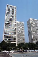 Philadelphia: Society Hill Towers, I.M. Pei & Assoc., 1964. Photo '88.