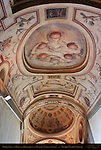 Barrel Vault and Dome with Grotesques and Fantasies Monumental Staircase Palazzo Vecchio Florence
