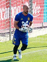 Spain's Pepe Reina during training session. June 5,2017.(ALTERPHOTOS/Acero)