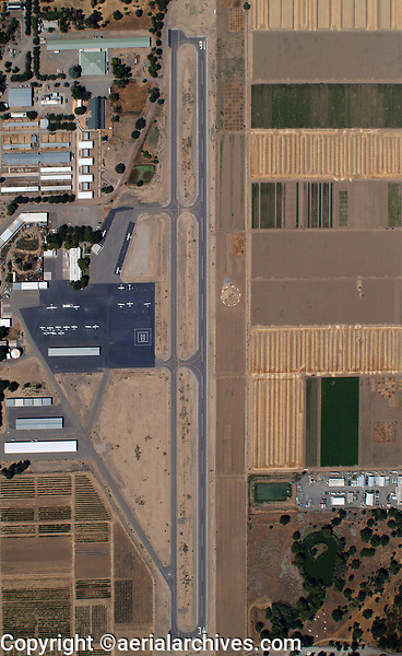 aerial map view of University Airport (EDU) at the University of California at Davis, Davis, Yolo County,California